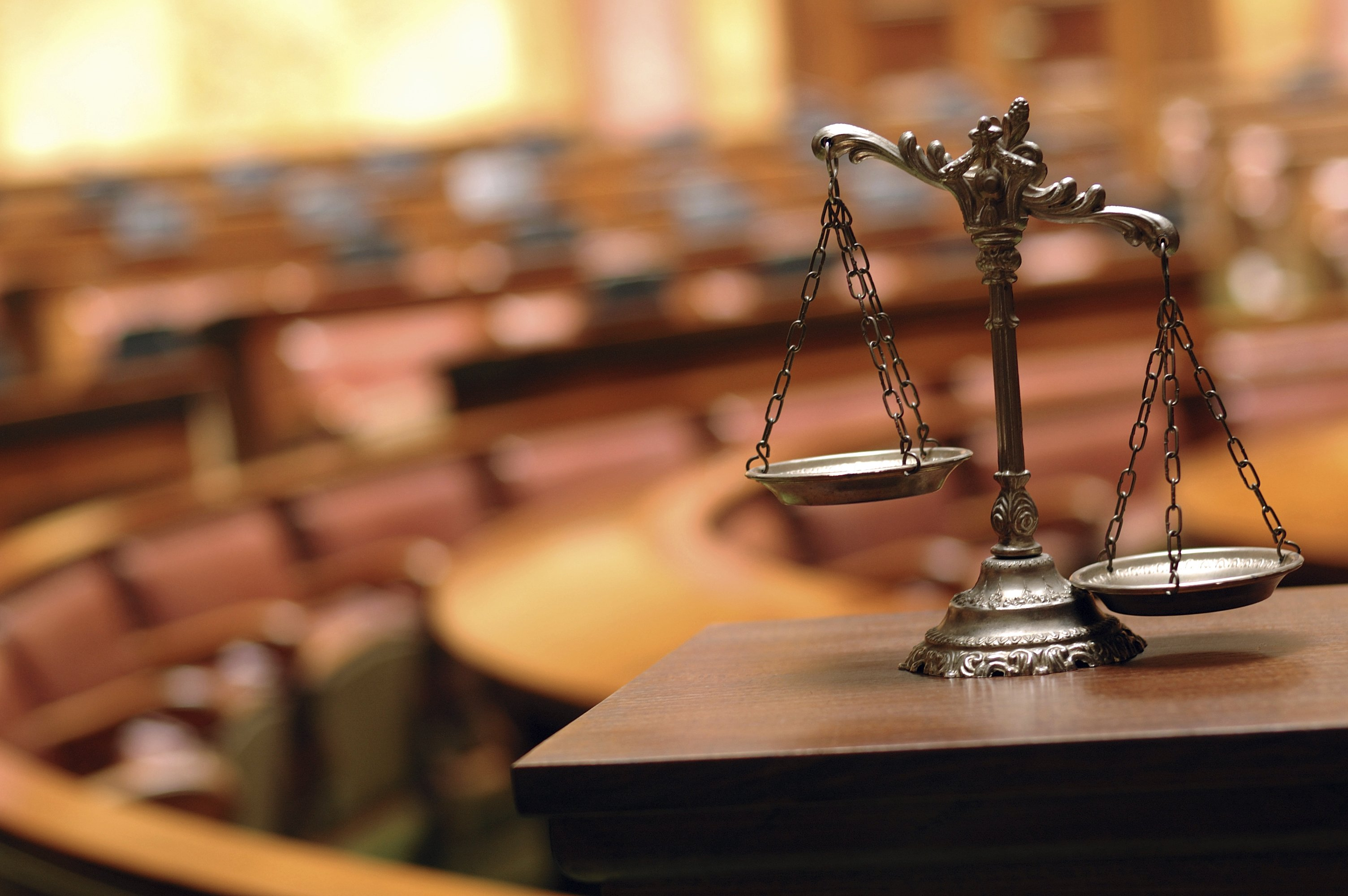 Decorative Scales Of Justice In The Courtroom Armstrong Law Group